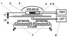 схема для керамического нагревателя ик станции